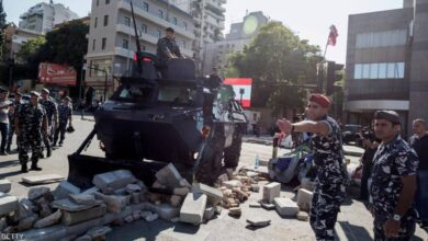 Photo of القوى الأمنية تفتح طرقات أغلقها المتظاهرون والمدارس تفتح أبوابها