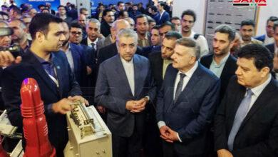 Photo of خربوطلي: إمكانية الاستفادة من معرض طهران للتجهيزات الكهربائية لتطوير منظومة الكهرباء في سورية