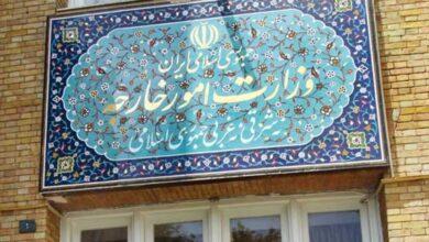 Photo of إيران تؤكد معارضتها لأي عدوان تركي على الأراضي السورية
