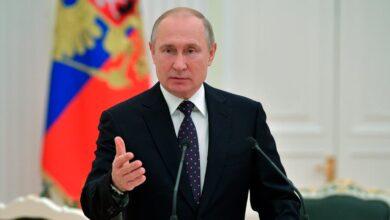 Photo of بوتين: يجب مغادرة جميع القوات الأجنبية الموجودة بشكل غير شرعي في سورية