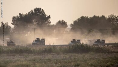 Photo of العدوان التركي يحتل قرى على طريق حلب – الحسكة ويقترب من مواقع الجيش السوري