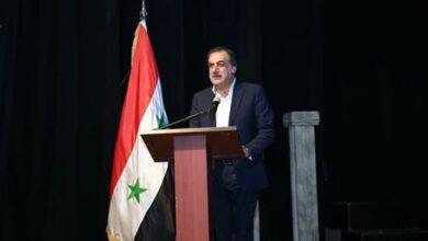 "Photo of دياب يطلق ""حلب عاصمة للثقافة السورية"" لعام ٢٠١٩"