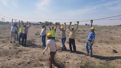 Photo of إصلاح خطوط كهرباء القامشلي التي تأذت جراء العدوان التركي