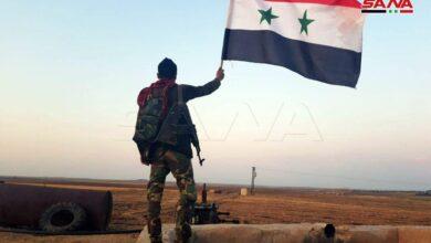 Photo of الجيش السوري ينتشر على الحدود السورية التركية بمحور يمتد 90 كم