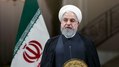 صورة الرئيس روحاني: حكام البيت الأبيض «شرّ طال العالم أجمع»