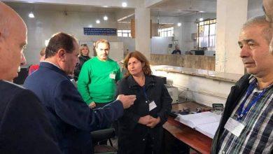 صورة ربط شبكي بين مديريات النقل في المحافظات