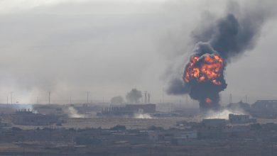 Photo of مقتل جنود أتراك بانفجار في ريف رأس العين