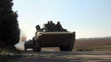 صورة الجيش على أبواب «جرجناز» ويحاصر نارياً النقطة التركية في «الصرمان»