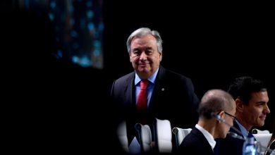 """Photo of غوتيريش في افتتاح مؤتمر المناخ: على العالم أن يختار بين """"الأمل"""" و""""الاستسلام"""""""