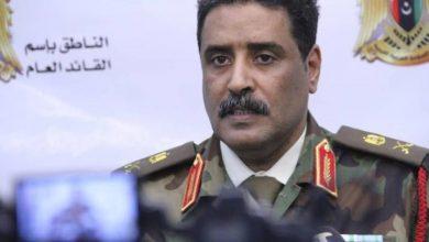 Photo of الجيش الليبي: سندمر أي سفينة أو طائرة شحن تركية تدخل أراضينا