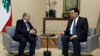 صورة حسان دياب رئيسا للحكومة اللبنانية الجديدة