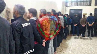 صورة شرطة حماة تلقي القبض على قتلة مدير ناحية سلحب.. وتنشر أسماءهم