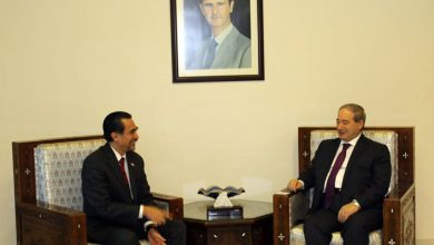 Photo of المقداد يبحث مع رؤوف تعزيز العلاقات بين سورية وأندونيسيا في جميع المجالات