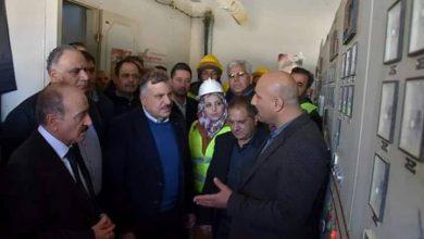 صورة وزيرا الداخلية والكهرباء يتفقدان القصير والقريتين