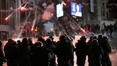 Photo of تجدد الاشتباكات العنيفة وسقوط جرحى وسط بيروت