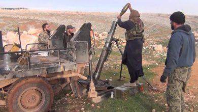 """صورة تسخين لجبهة ريف حلب الغربي.. """"النصرة"""" تقصف والجيش يرد بقوة"""