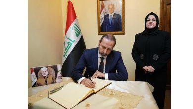 Photo of بتكليف من الرئيس الأسد.. الوزير عزام يقدم التعازي للعراق باستشهاد أبو مهدي المهندس
