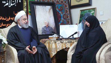 Photo of روحاني من منزل الشهيد سليماني: أميركا لم تُدرك خطأ ما ارتكبته