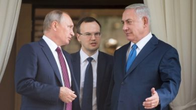 "Photo of بوتين يلتقي نتنياهو الخميس لبحث ""صفقة القرن"""