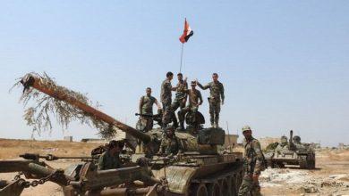 Photo of الجيش السوري يقترب من الطريق الدولي سراقب – معرة النعمان