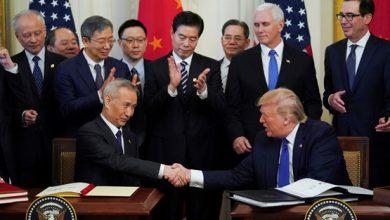 "Photo of اتفاق لإنهاء ""الحرب التجارية"" بين الصين والولايات المتحدة"