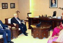 Photo of المعلم يتسلم أوراق اعتماد سفيرة سريلانكا غير المقيمة لدى سورية