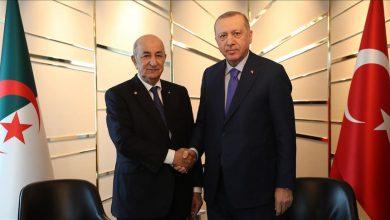 Photo of الرئيس الجزائري: اتفقنا على رفع التبادل التجاري مع تركيا إلى 5 مليارات دولار