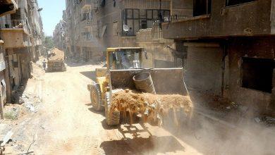 Photo of قطان: الآليات بدأت بالعمل في المعرة لإزالة الأنقاض وفتح الشوارع الرئيسية