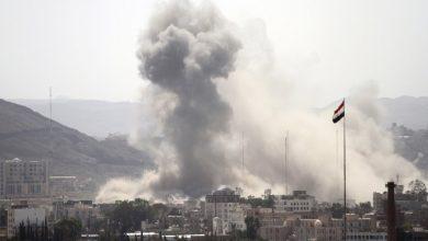 Photo of سقوط 40 شخصا بين شهيد وجريح في مجزرة جديدة لطيران العدوان السعودي باليمن