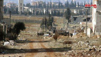 """Photo of بعد تأمين خط دمشق – حلب.. """"أورم الكبرى"""" بيد الجيش السوري"""