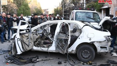 Photo of شهيد وإصابتان بتفجيرين إرهابيين في دمشق