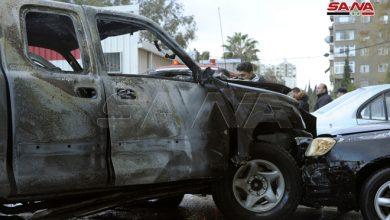 Photo of إصابة شخص بانفجار عبوة بسيارة في المزة بدمشق