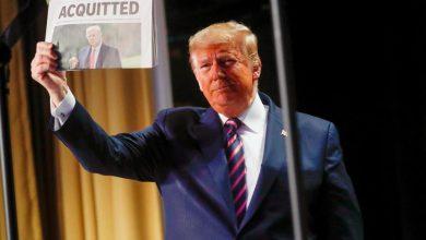 "Photo of ترامب: لولا انتصارنا في ""قضية العزل"" لانهارت الأسواق المالية"