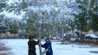 Photo of الثلوج تغطي بغداد للمرة الأولى منذ 12 عاماً