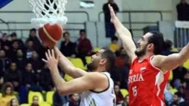 Photo of منتخب سورية لكرة السلة يخسر ثالث مبارياته على التوالي
