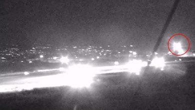 Photo of فيديو يظهر هبوط أضطراري لطائرة ركاب إيرانية في قاعدة حميميم أثناء العدوان الإسرائيلي