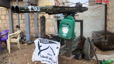 "Photo of الجيش يمشط ""حيان"".. أسلحة وأنفاق ""النصرة"" في كل مكان (صور)"