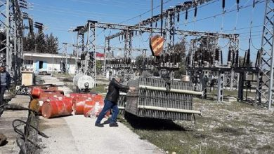صورة توسعة محطة كهرباء القنيطرة لتلبية الطلب المتزايد على الكهرباء