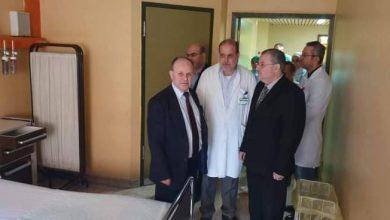 Photo of وزير التعليم العالي يزور جناح العزل في مشفى الأسد الجامعي بدمشق