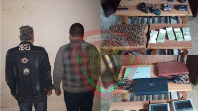 """صورة القبض على """"سارق سيارات"""" خطير في حمص"""