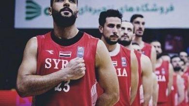 صورة خلفه السعودية.. منتخب سورية لكرة السلة في المركز 19 آسيويا!