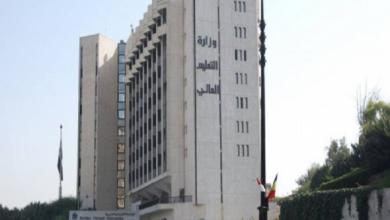 Photo of التعليم العالي تطلب إيقاف دوام طﻻب الدراسات العليا العرب والأجانب في الكليات الطبية بالسرعة الممكنة