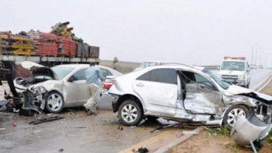 صورة وفاة شخصين و48 حادثاً مرورياً بحماة الشهر الماضي