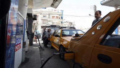 صورة أزمة بنزين في حماة