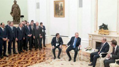 """صورة بوتين يبحث مع أردوغان تنفيذ """"اتفاق موسكو"""""""