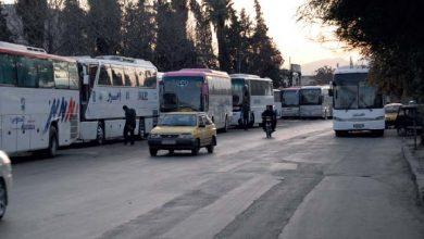 Photo of نقل أكثر من ٢٥ ألف مواطن من دمشق إلى باقي المحافظات خلال يومي الاثنين والثلاثاء