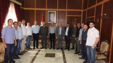 صورة حماة تكرم ضباط فرع الأمن الجنائي