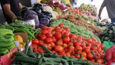 صورة أسعار بعض الخضار والفواكه تنخفض بنسب تصل 30 بالمئة في السوق خلال أسبوع
