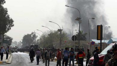 صورة استهداف قياديين من مرتزقة أردوغان بعبوة ناسفة في جرابلس