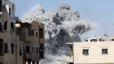 """Photo of مقتل قادة ومسلحين من """"النصرة"""" في انفجار ضخم وسط إدلب"""